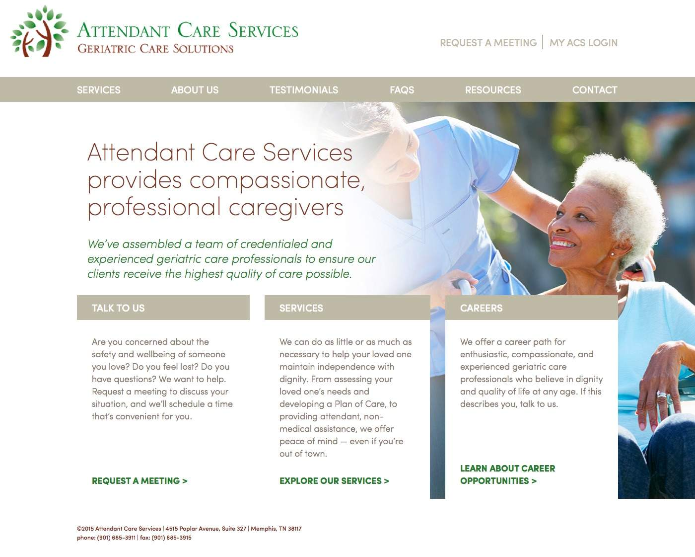 Home | Attendant Care Services