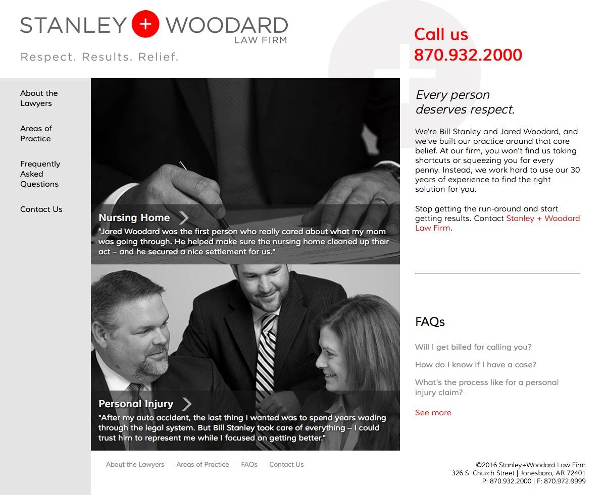 Stanley+Woodard Law Firm