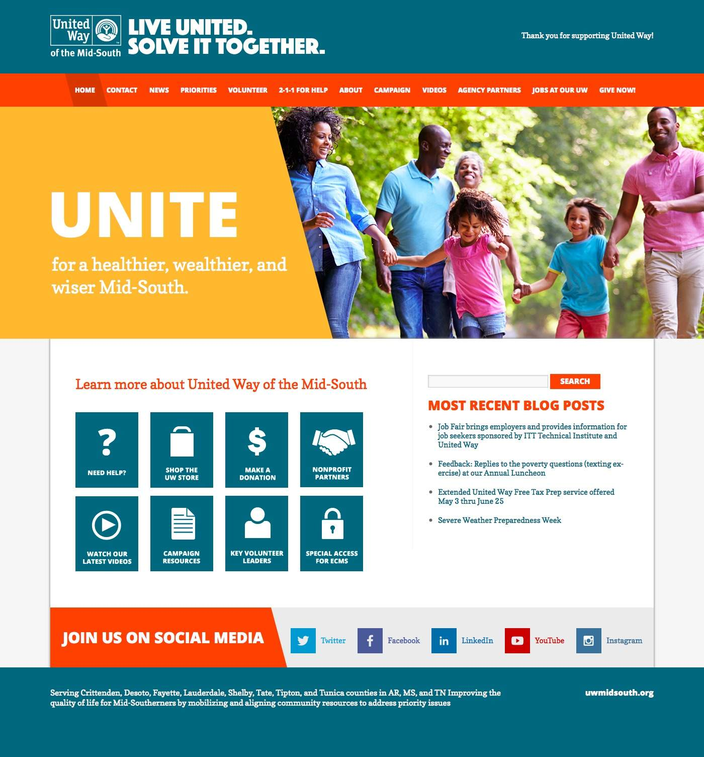 uwmidsouth.org | Thank you for supporting United Way!